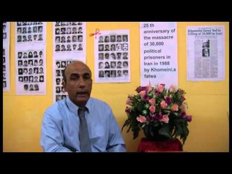 Mostafa Naderi 1988 Iranian Massacre - Political Prisoner Survivor