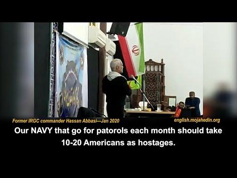 Iranian Regime & IRGC's strategy of hostage-taking - Hassan Abbasi's speech on Jan 2020