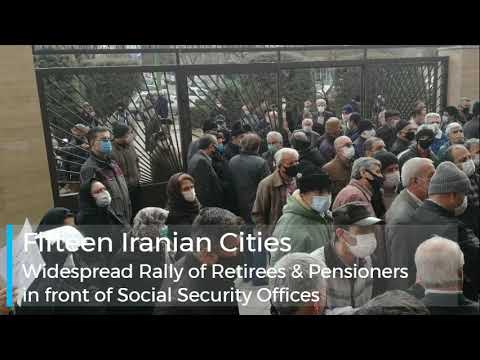 Iranians Continue Protests; Including Retirees' Widespread Rally on January 26