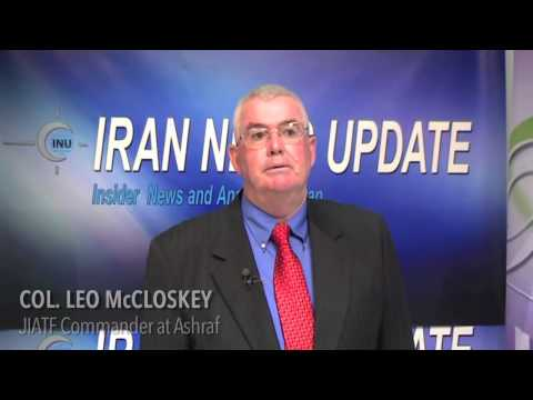 """US Col. Leo McCloskey """"Not Optimistic"""" about Rowhani"""
