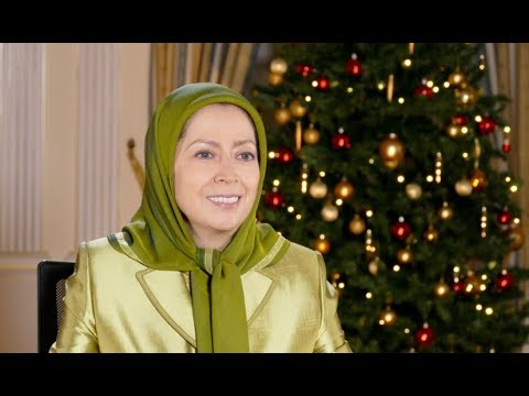 Maryam Rajavi's Message for Christmas and New Year 2018