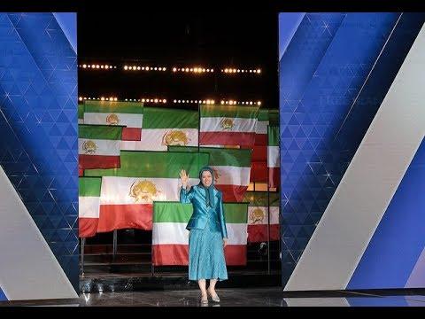 "Maryam Rajavi in the ""Free Iran - The Alternative"" grand gathering - Villepinte, June 30, 2018"