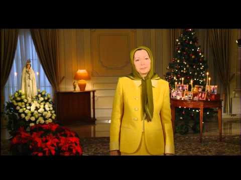 Maryam Rajavi's Christmas and New Year Greetings 24 December 2013