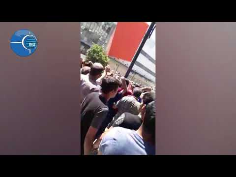 Iran, August 2, 2018. Protests In Mashhad against high prices and economic woes