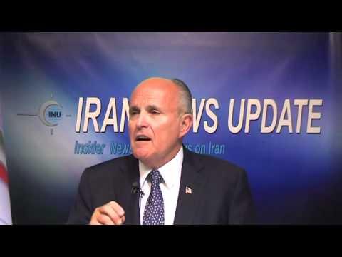 Rudy Giuliani Expresses Dissent Regarding Rowhani Election
