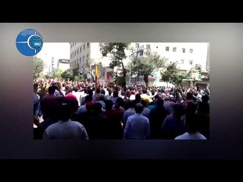 Iran: protests in city of Shiraz, against high prices, August 2, 2018