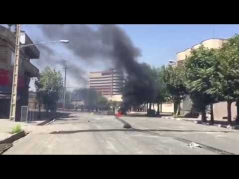 Protest and Clashes Erupts Over killing of Porters by IRGC Iranian security forces