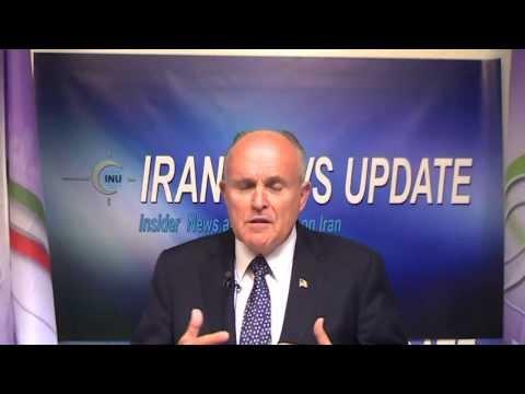 Rudy Giuliani Calls Rowhani's Behavior Extremist