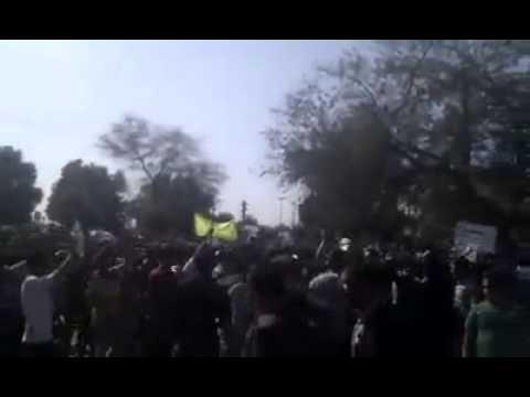 Iran: Anti government demonstrationin Dezful