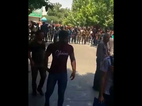 Disgusting acts of violence by Iran regime's police thugs to stifle the #IranProtests
