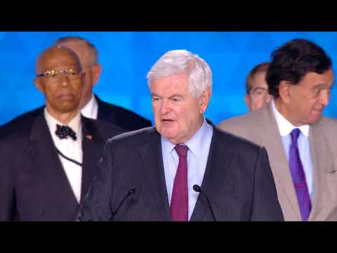 Speech by Newt Gingrich at Free Iran: The Alternative Gathering 2018 Villepinte , Paris