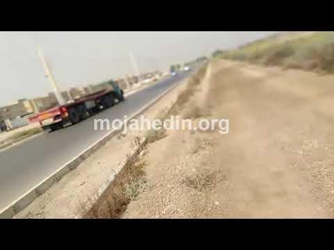اقدام جنایتکارانه رژیم و درست کردن بلوار بر مزار شهدای قتلعام مجاهدین در اهواز