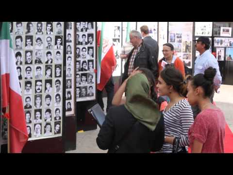 Paris - The main Iranian opposition began a series of public protests against the soaring executions