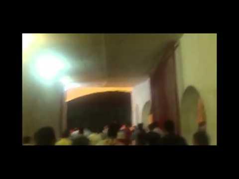 Tehran football game: No Gaza No Lebanon, My Life for Iran 11-06-2013