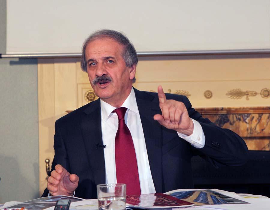 INU Photo-NCRI  News Conference 10-09-2013 Paris- Mehdi Abrishamachi Revelation on Iranian regime atom Program