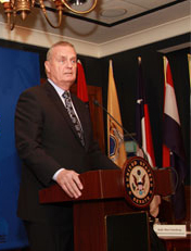 Gen. James Jones, a former commandant of the Marine Corps and former NATO commander