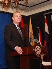 Gen. James Jones, a former commandant of the Marine Corps and former NATO commander