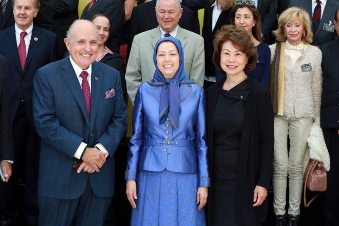 Rudi Juliani Maryam Rajavi MEK