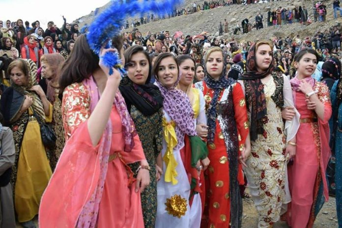 on Monday June 11, just prior to the traditional Cherry Feast in Kurdistan.