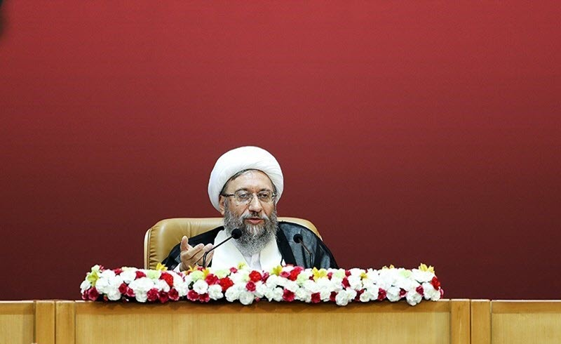 Sadegh Larijani- issued threats against participants in this week's protests in Tehran