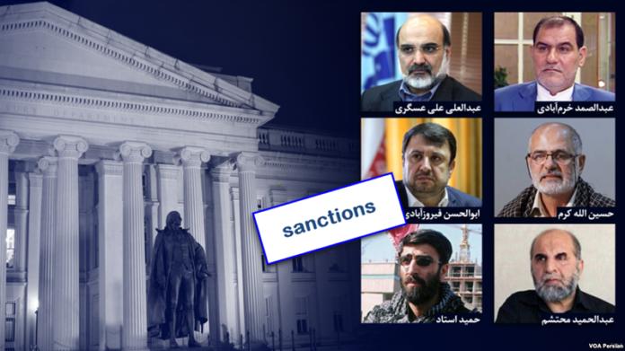 Recent sanctions