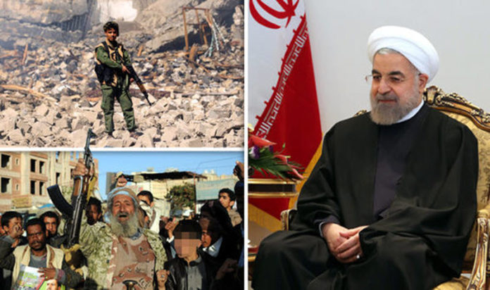 To use its proxy forces: Iran prefers to fight by proxy in order to keep their hands