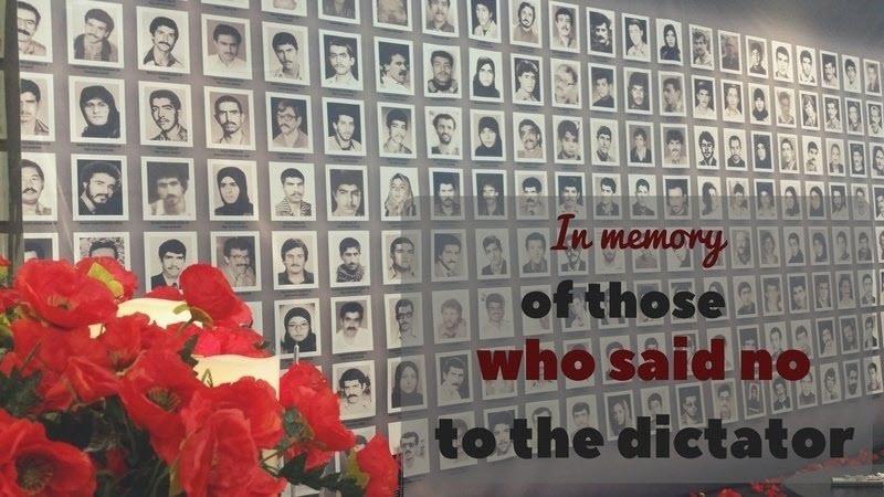 1988 massacre, when the Regime murdered 30,000 prisoners affiliated with the Mujahedin-e Khalq (MEK) in just a few months