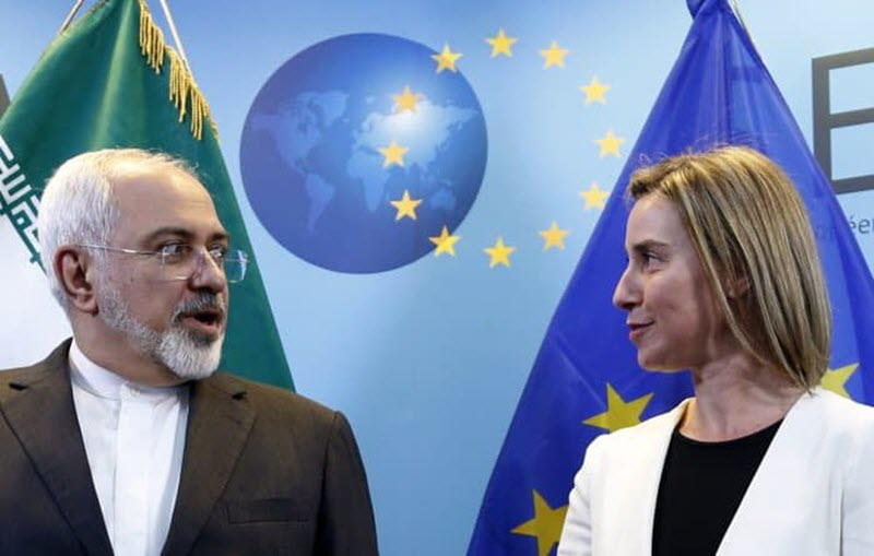 The Iranian regime's president Hassan Rouhani is trying to save the nuclear deal,