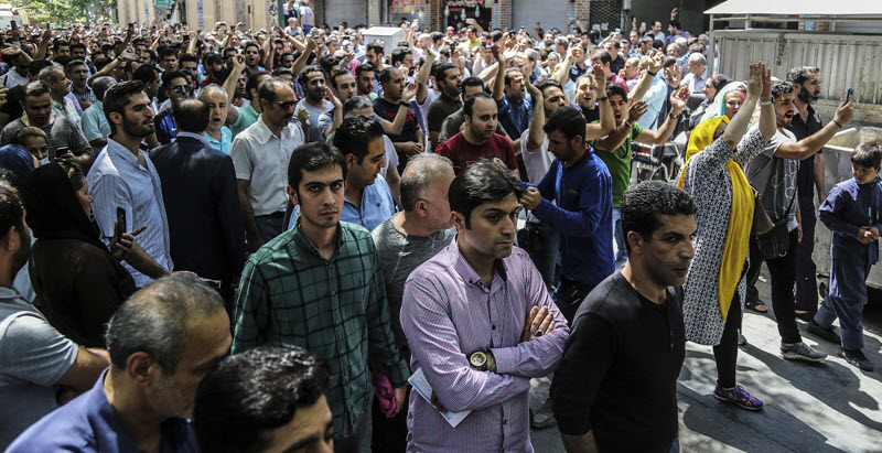 In the oil-rich province of Khuzestan, protests broke out in the cities of Abadan and Khorramshahr