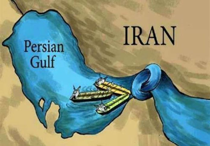 The Iranian Revolutionary Guard (IRGC) is threatening to close the strait in an attempt to blockade global oil sales