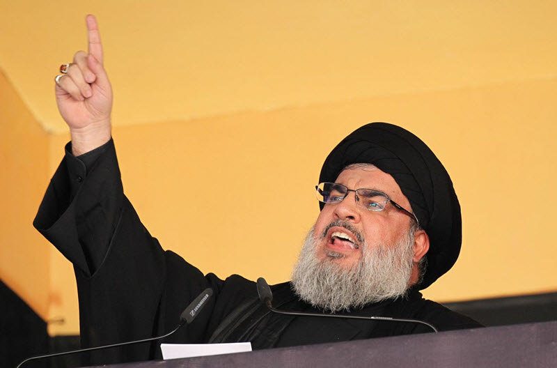 Hassan Nasrallah-Hezbollah-Iran Sanctions-Iran Protests