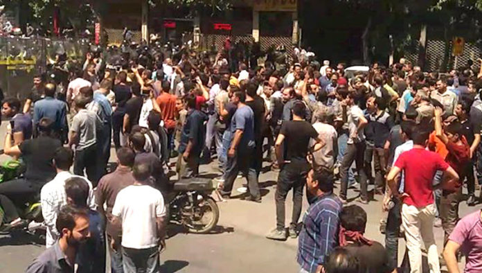 Iran Protests in Isfahan Continues