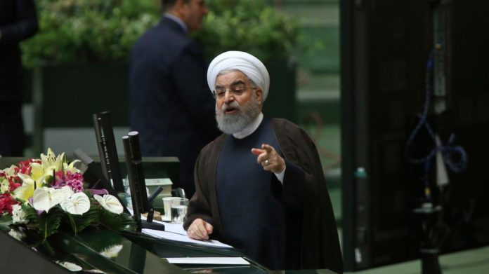 Hassan Rouhani was summoned to appear before the country's parliament on Tuesday, where he faced grilling by lawmakers over his administration's handling of the Iranian economy.