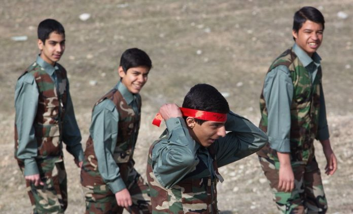 Iran Reime's Basij Force Sanctioned by Us for Child Soldiers