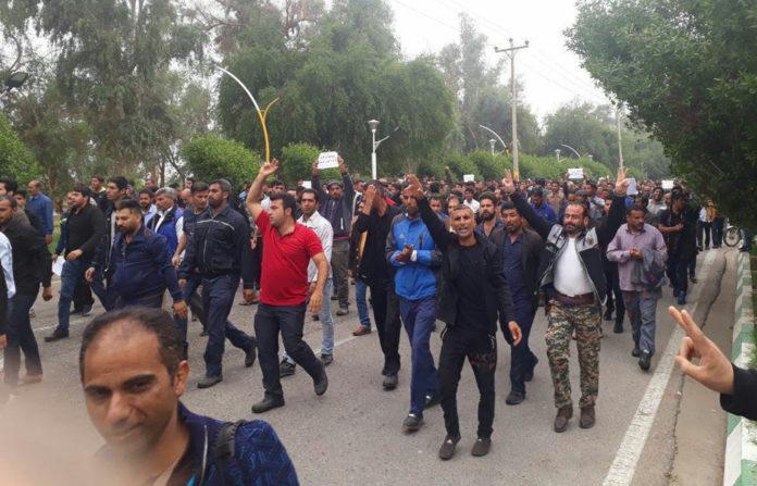 Iran's strikers not afraid of Regime