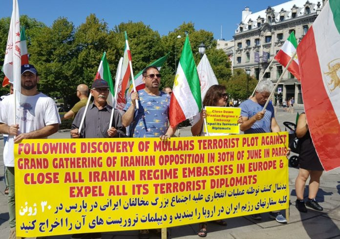 Iran Stages Terrorist Operations Against the Opposition in the US and EU