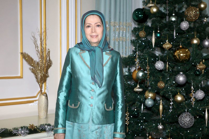 Message of Maryam Rajavi on Christmas & New Year 2019