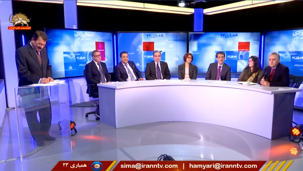 """Opposition 's """"Iran National Television"""" starts its telethon"""