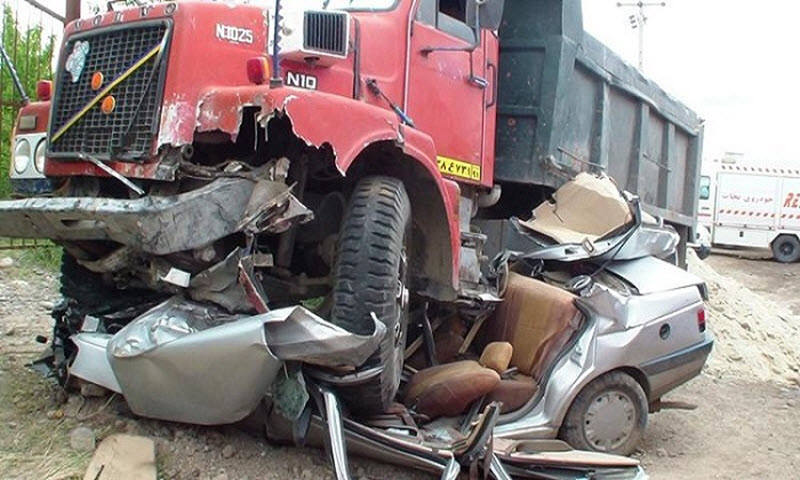 Over 12,000 People Killed in Road Accidents in Iran Since March