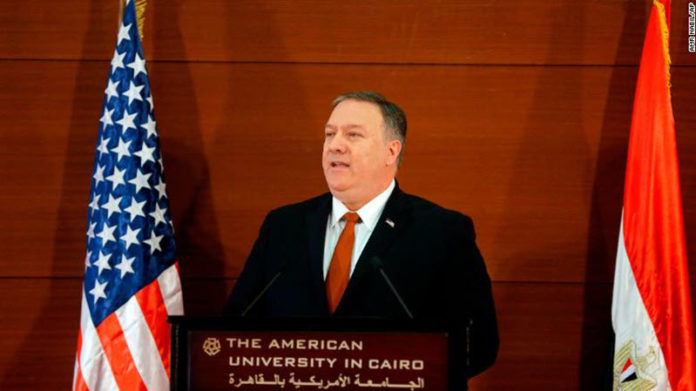 Pompeo Rebukes Obama Mid-East Policy; Reiterates Importance of Confronting Iran