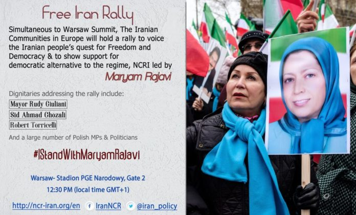 Iranians to Rally in Support of Resistance at Warsaw Conference
