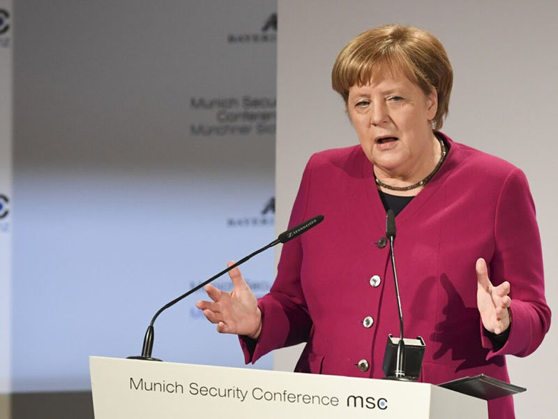 "Merkel blast Iran's ""aggressive tendencies"""