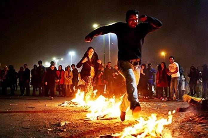 Iran Regime scared of the fire festival