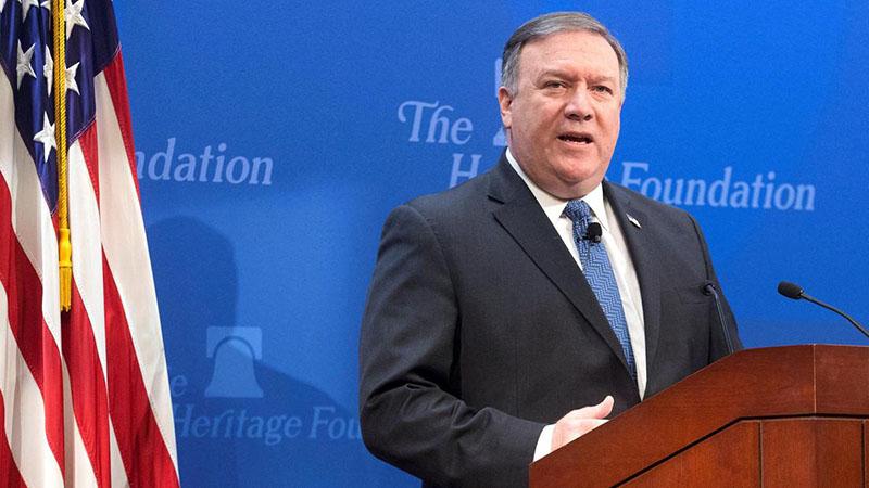Pompeo: Trump will increase pressure on Iran