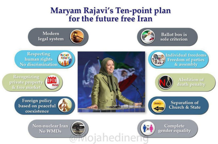 The MEK's 10-point plan for a free Iran