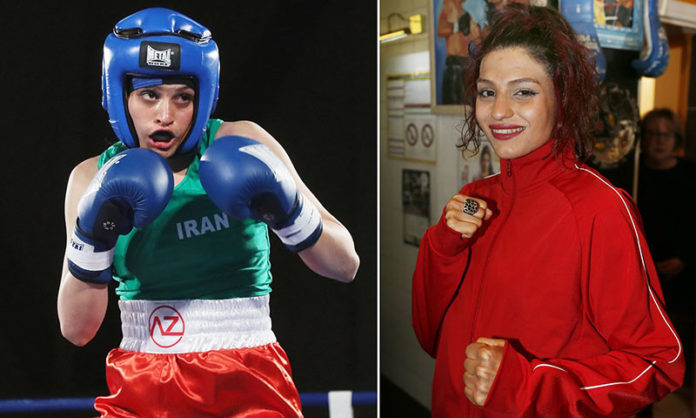 Fearing Arrest, Iran's Female Boxer Shines Light on Women's Rights Issues