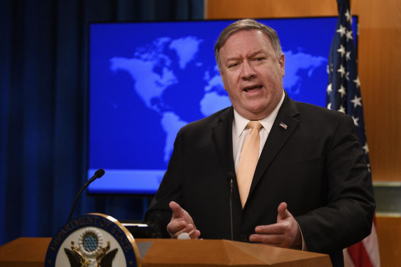 Pompeo confident that Iran sanctions will not affect China talks