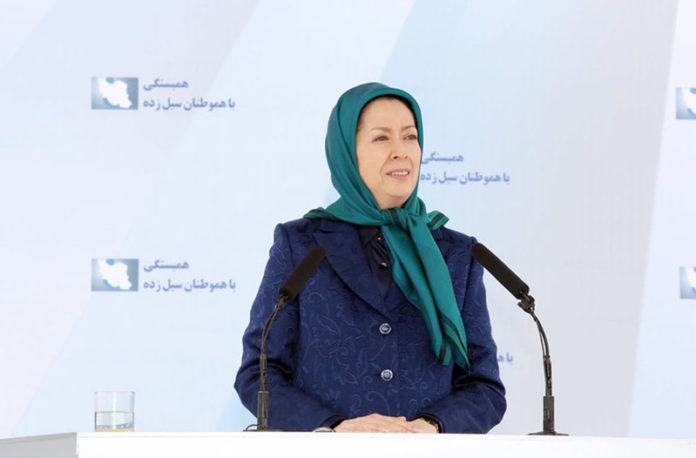 Maryam Rajavi's recent statements on floods in Ahvvaz