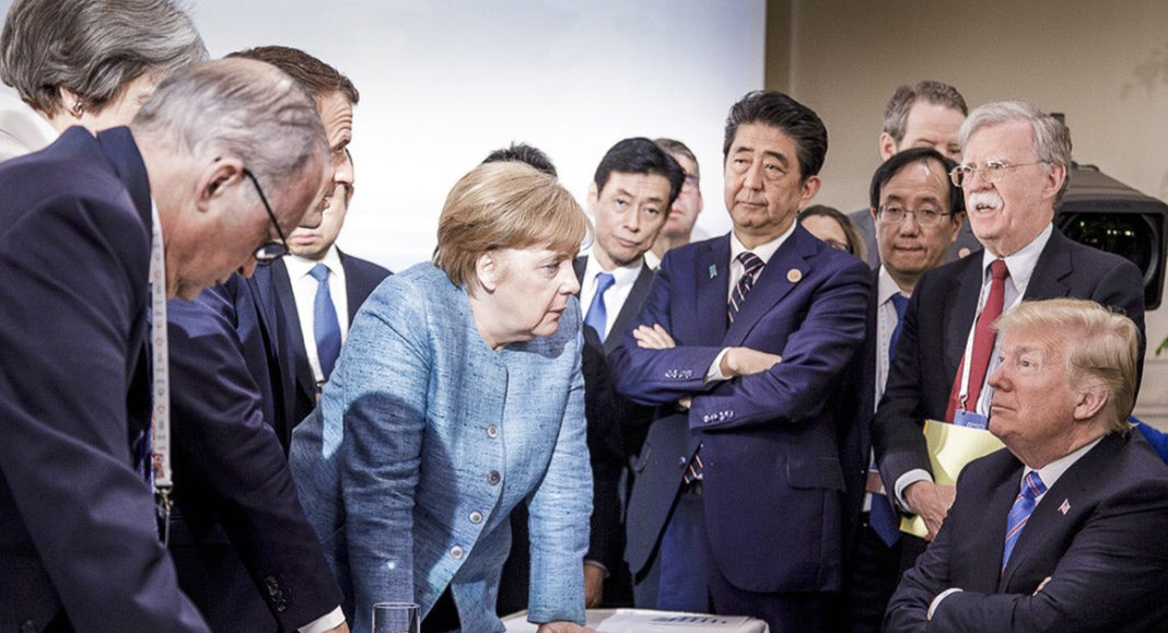 Rare Disagreements at G-7 Meeting Demonstrate Iran's Fading Support