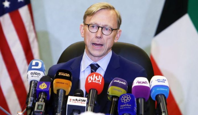 US special envoy Brian Hook: Iran Must Deescalate Situation in Middle East